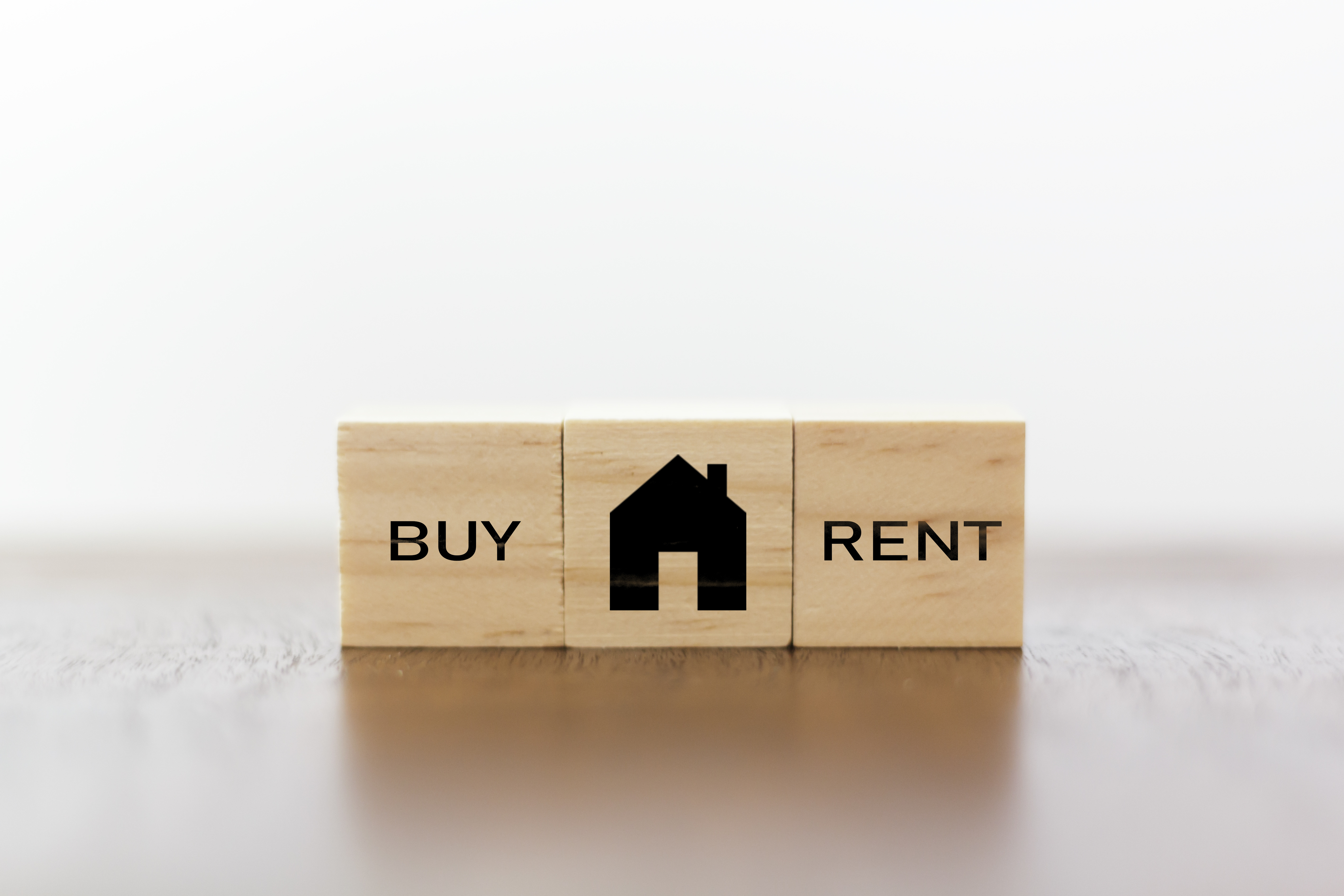 House with buy or rent to own option